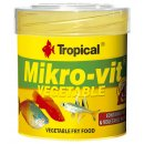 Tropical Microvit Vegatable Staubfutter 50 ml