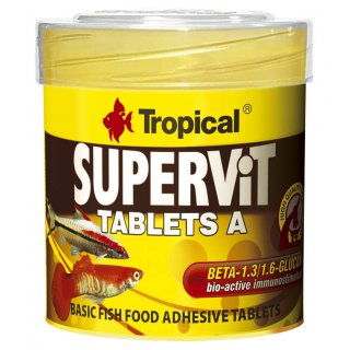 Tropical Supervit Tablets A - Hafttabletten