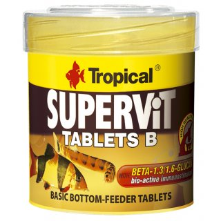 Tropical Supervit Tablets B - Bodentabletten