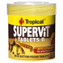Tropical Supervit Tablets B 50 ml - für Bodenfresser