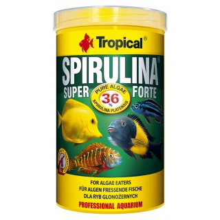 Tropical Super Spirulina Forte 36% Flakes