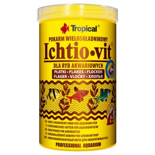 Tropical Ichtio-Vit Flockenfutter