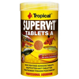 Tropical Supervit Tablets A 250 ml - Hafttabletten
