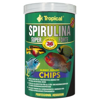 Tropical Super Spirulina Forte Chips 1000 ml