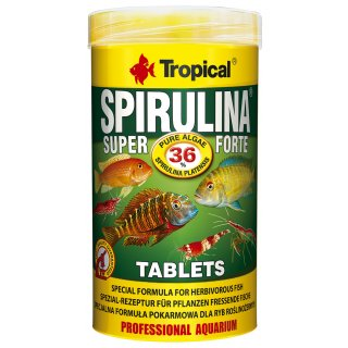 Tropical Super Spirulina Forte 36% Tablets 250 ml