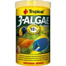 Tropical 3-Algae Flakes Flockenfutter 1000 ml