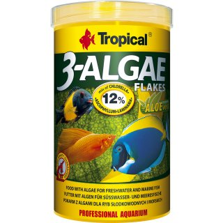 Tropical 3-Algae Flakes Flockenfutter 21 l
