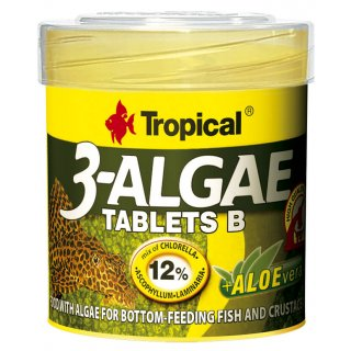 Tropical 3-Algae Tablets B 250 ml - Bodentabletten