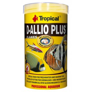 Tropical D-Allio Plus Flockenfutter 5 l