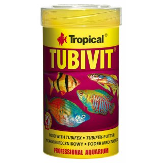 Tropical Tubivit - Tubifex Futter 100 ml