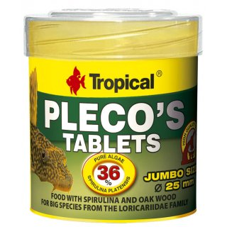 Tropical Plecos Tablets 50 ml