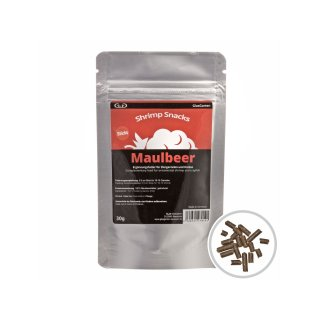 GlasGarten Shrimp Snacks Maulbeer 30 g